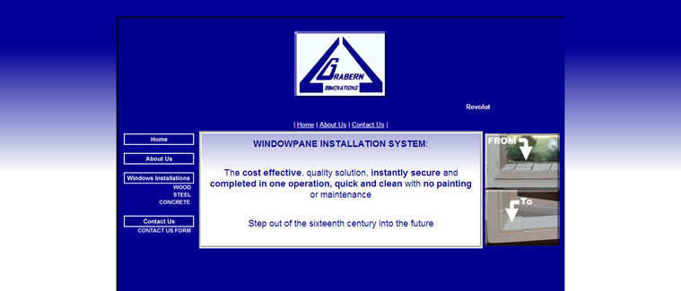 One of the first websites designed by KJM Projects - no longer active unfortunately